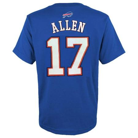 Number Buffalo - Josh Allen Buffalo Bills #17 Youth Name & Number T-Shirt XL