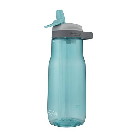 Rubbermaid Leak-Proof Sip Water Bottle - Aqua Waters - 32 oz Potable Aqua Water