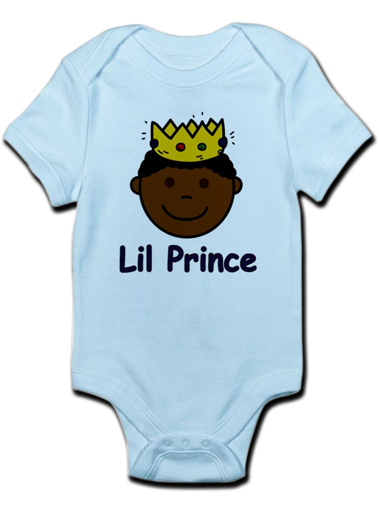 baby boy prince Personalized baby creeper crown