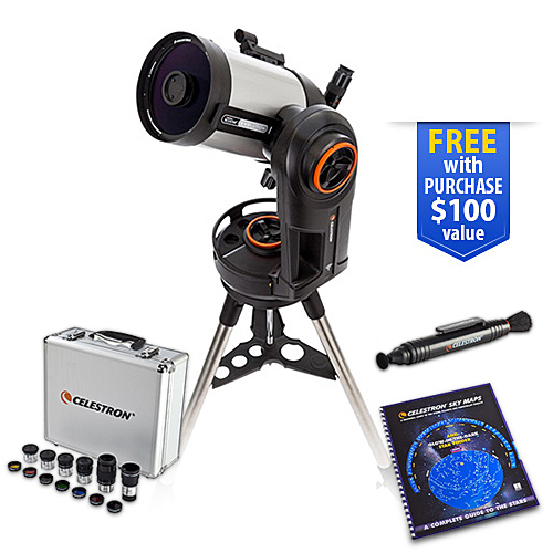 Celestron 12090 NexStar Evolution 5.91 Inch Telescope Bundle