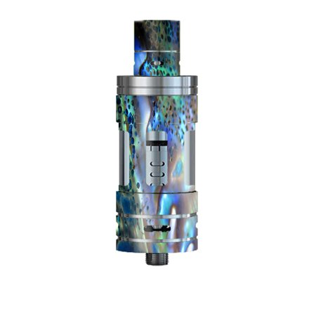 - Skin Decal For Smok Tfv4 Mini Tank Vape Mod / Abalone Pearl Sea Shell Green Blue