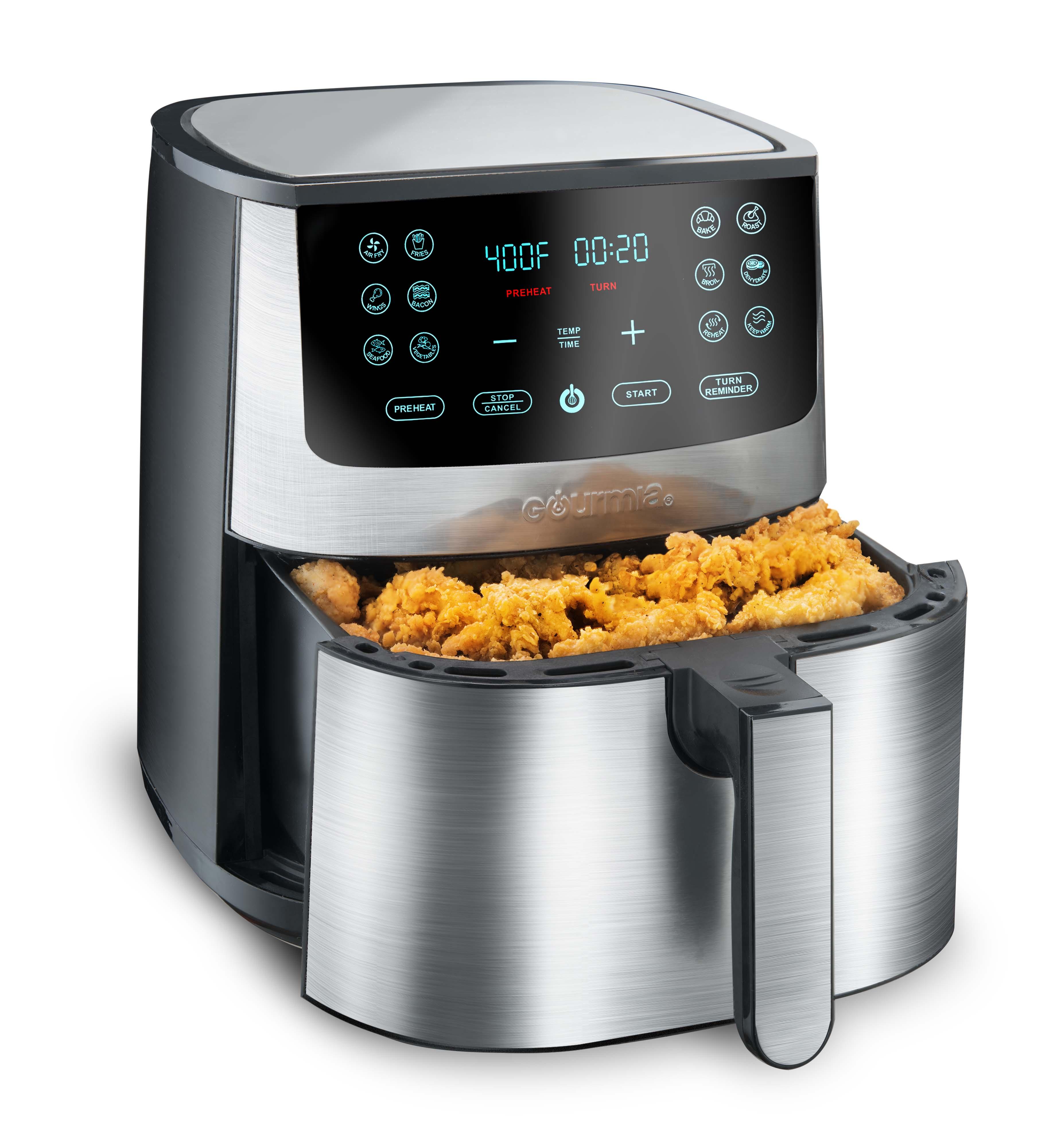 Gourmia 8-Qt Digital Air Fryer...