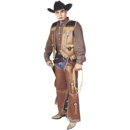 Vest and Chaps Set Adult Halloween Costume