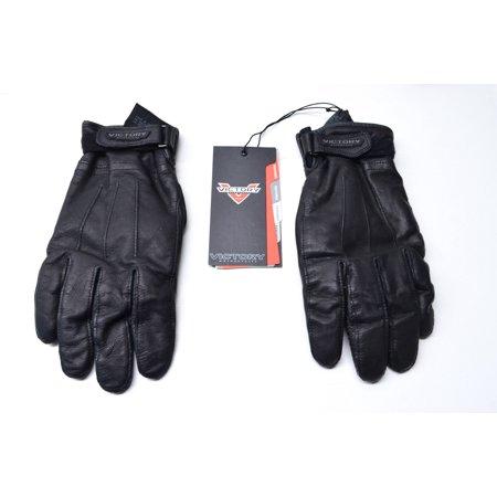 Mens Large Black Leather Classic - Stock Globe