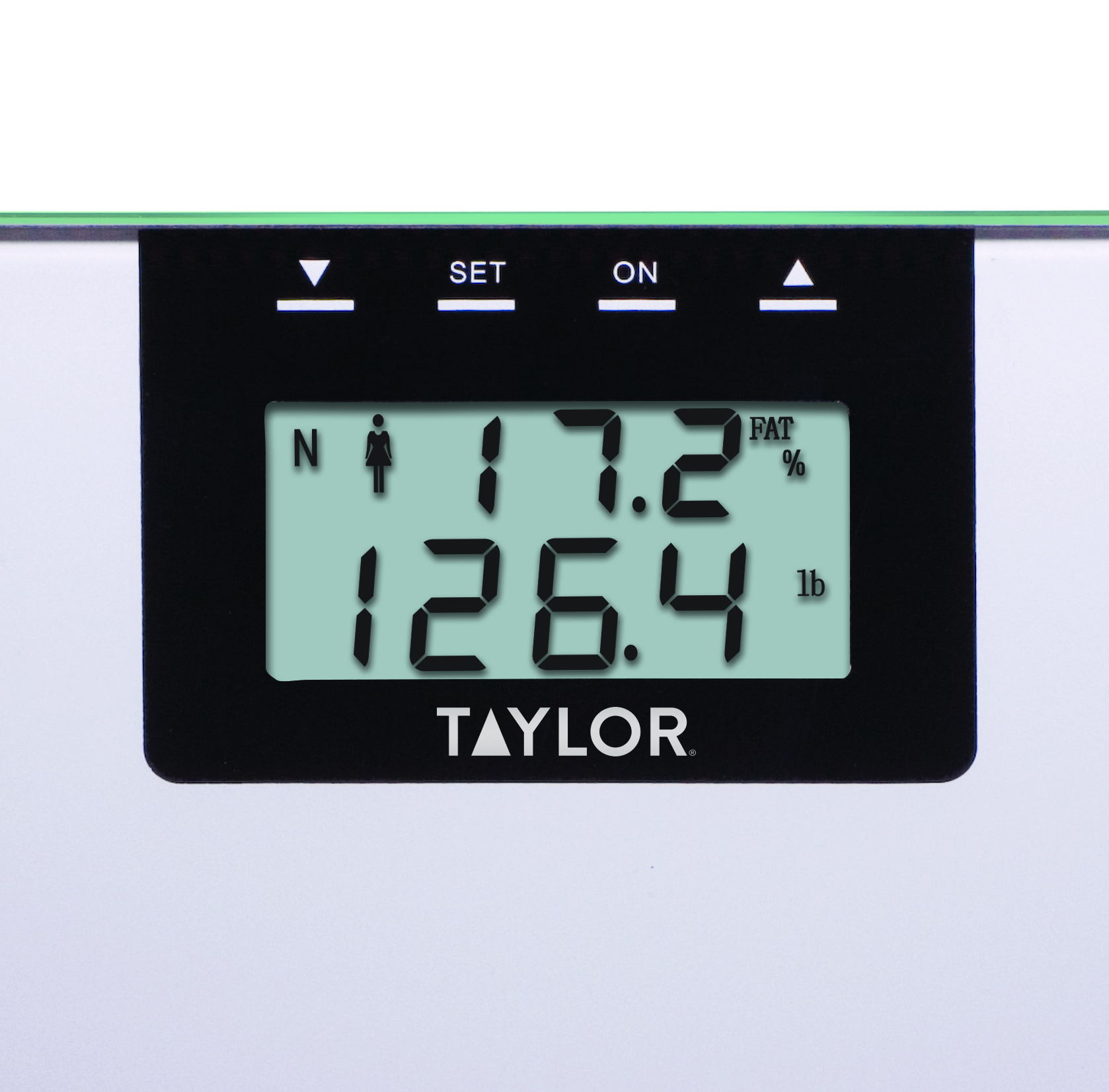 Taylor 5736BF Silver Glass BIA Scale - Walmart.com