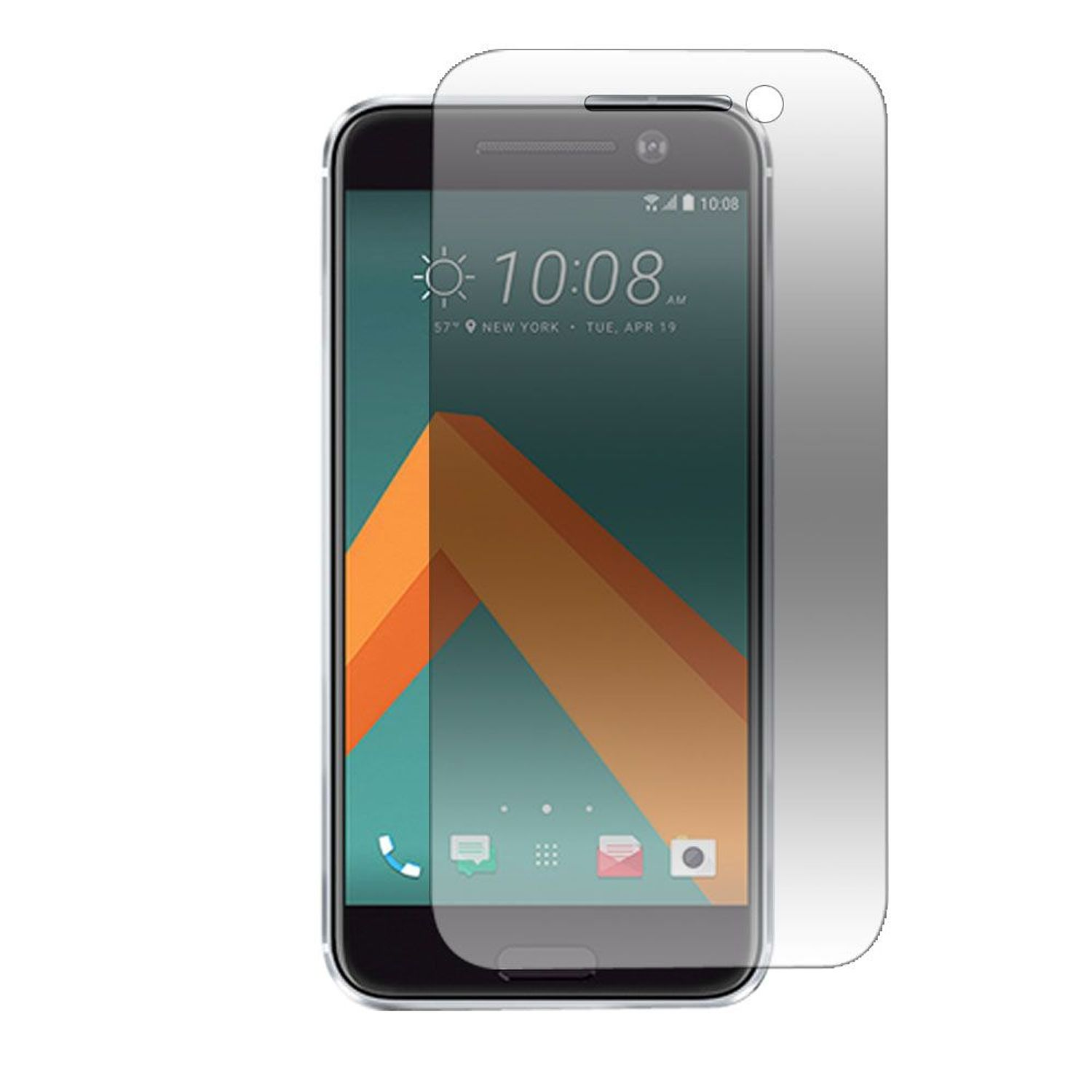 HTC 10 Screen Protector, by Insten Clear Tempered Glass Screen Protector LCD Film For HTC 10