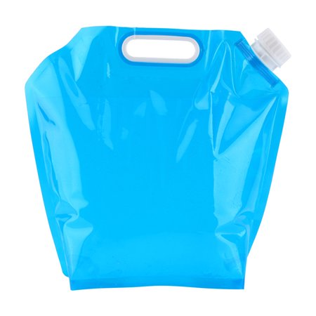 10L Folding Drinking Water Container Storage Bag Pouch BPA Free Plastic Water Carrier for Hiking Hunting Camping Climbing Travel Outdoor Activities thumbnail