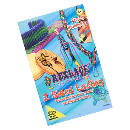 Rexlace 2 Sided Lacing Project Handbook - Camp, School, Parties and (Arts And Crafts Projects For Middle School)