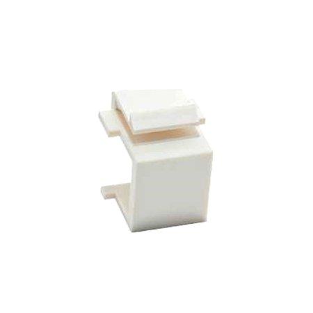 Vanco 820430 Blank Keystone Inserts, 5 Pack, White