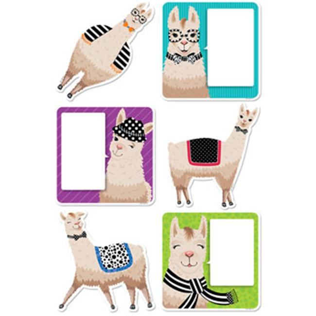 6 in. Bold & Bright Llamas Designer Cut-Outs - image 1 of 1
