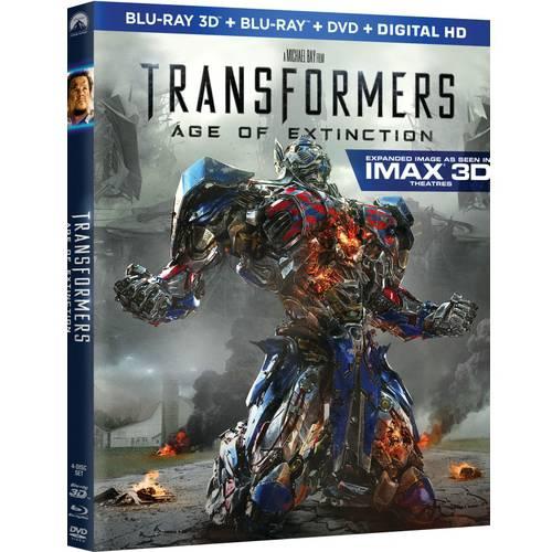 TRANSFORMERS 4-AGE OF EXTINCTION (3-DISC COMBO/3D/BR/DVD/E-COPY/UV)
