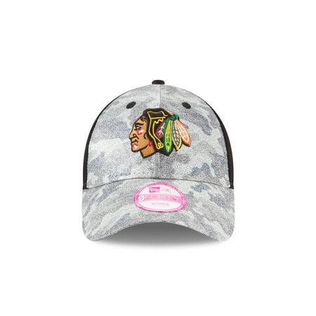 New Era Chicago Blackhawks Glamo Camo Hat by
