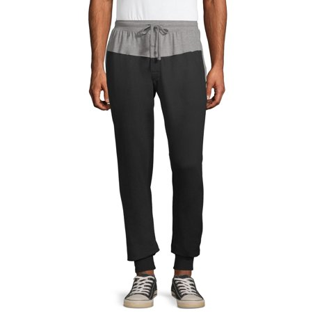 Hanes Men's 1901 French Terry Jogger Lounge Pants French Terry Crop Lounge Pant