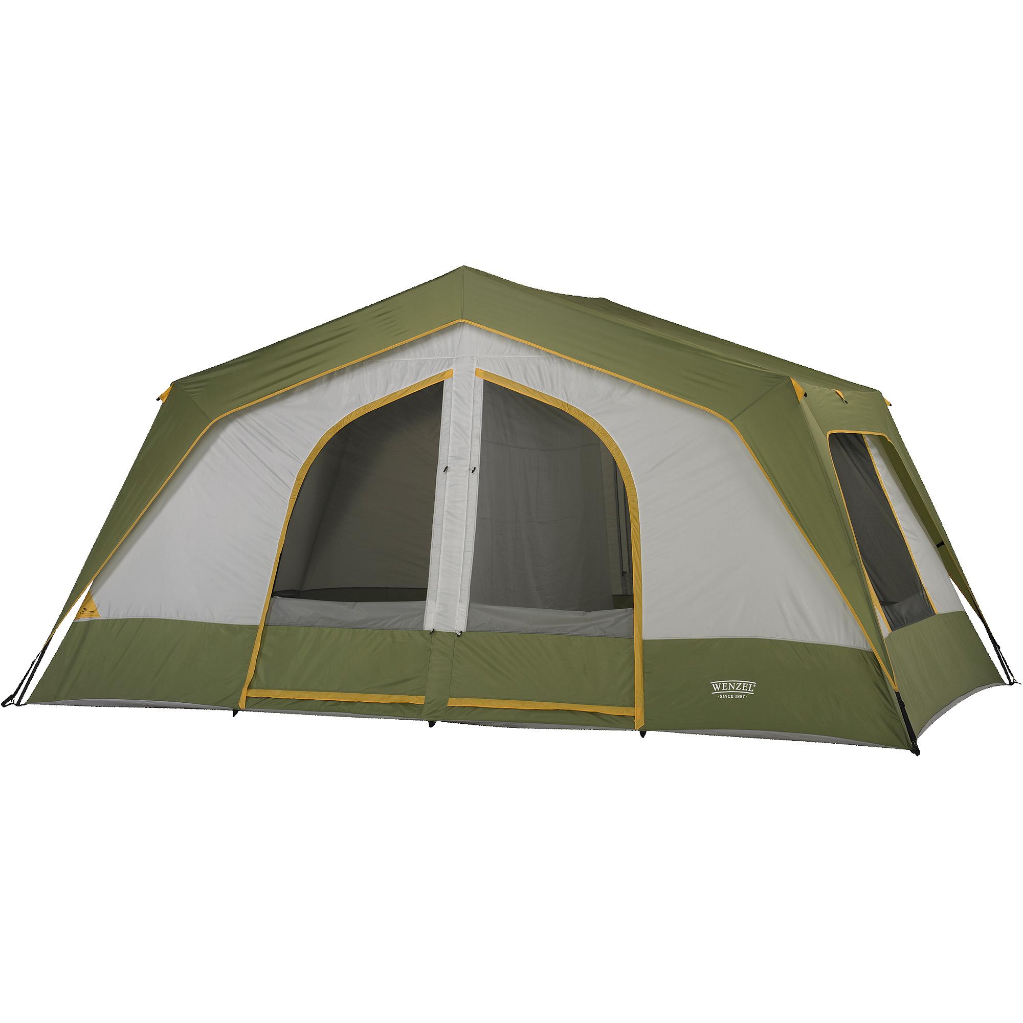 Wenzel Vacation Lodge Large 16' x 10' Tent, Sleeps 10