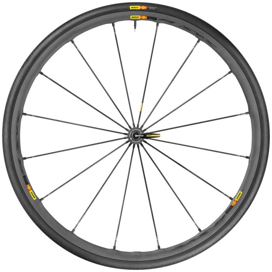 Mavic, R-Sys SLR WTS, Wheel, Front, 700C, 16 spokes, QR, Tire included