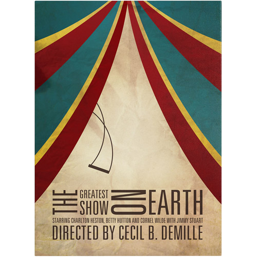 "Trademark Fine Art ""Greatest Show on Earth"" Canvas Art by Megan Romo"