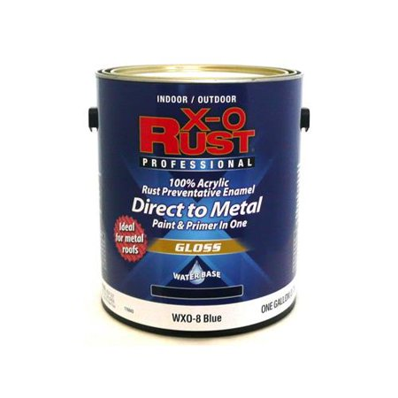 True Value Mfg Wxo8 Gl Rust Preventative Paint Primer Direct To Metal Gloss Blue 1 Gal Quany 2
