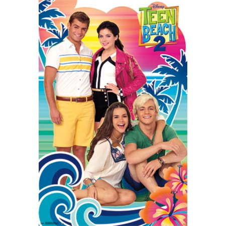 Teen Beach Movie 2 - Group Poster Poster Print