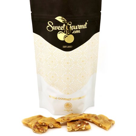 Old Dominion Original Crispy Peanut Brittle, old-fashioned candy - 1Lb