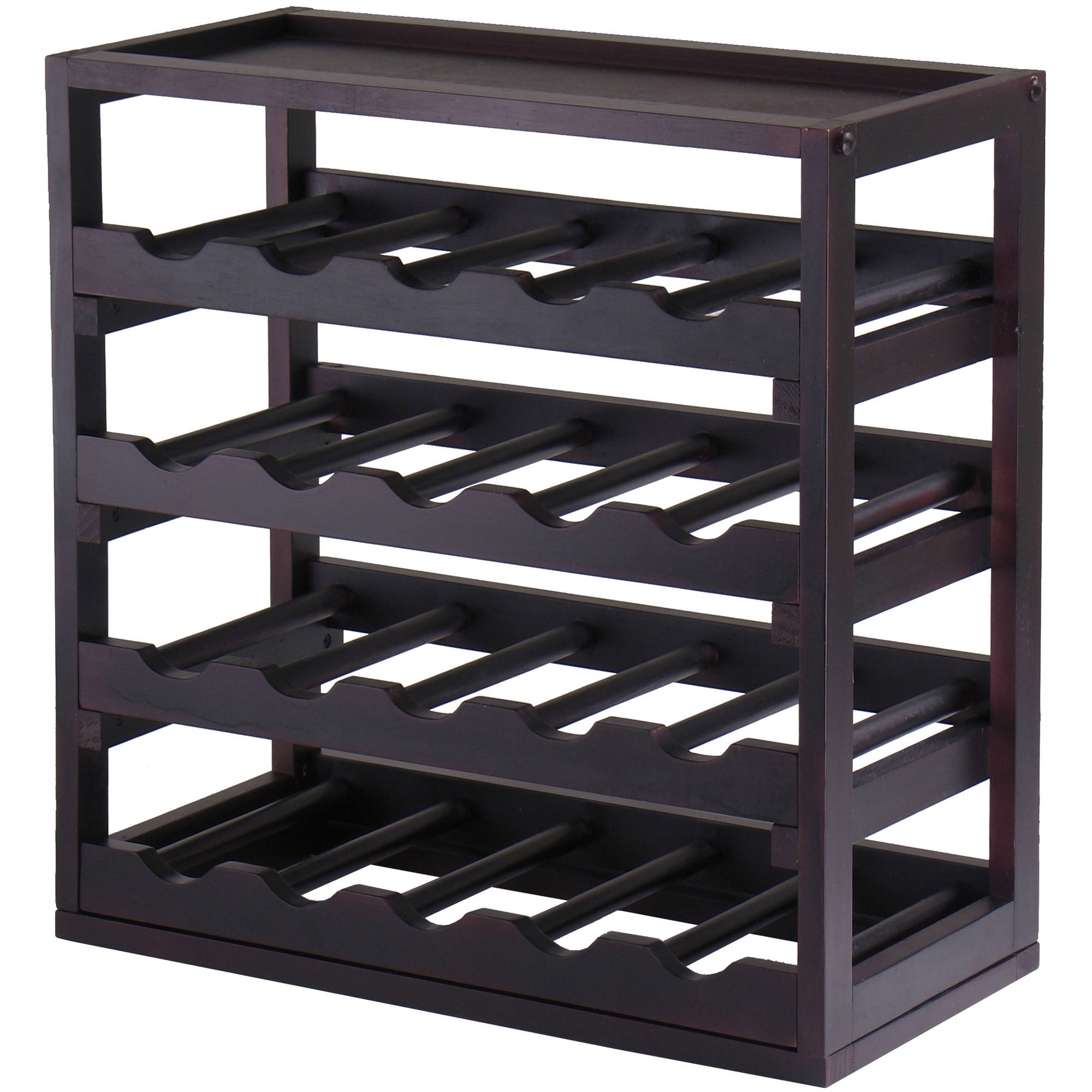 Kingston, Stackable Removable Tray Wine Cube, Holds 20 Bottles