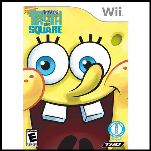 Spongebob-Truth Or Square (Wii) - Pre-Owned