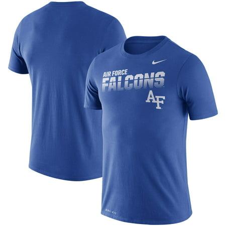 Air Force Falcons Nike Performance Sideline Legend T-Shirt - Royal