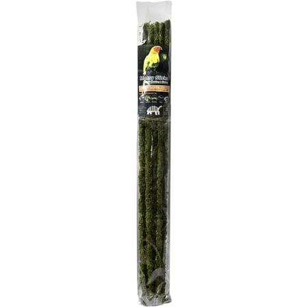 Galapagos  05322  Mossy Sticks  Fresh Green  32In  6 Pcs
