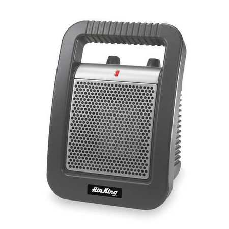 AIR KING Port. Elec. Heater,1500 W,5118 BtuH 8945