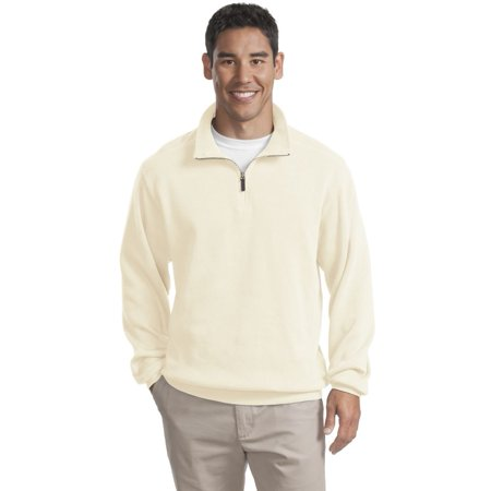 Port Authority Flatback Rib 1 4 Zip Pullover F220