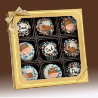 Gift Basket LF-OR9BXH6 Happy Father's Day Chocolate Oreo's Gift Box