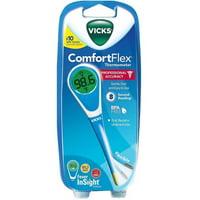 Vicks ComfortFlex Thermometer with Fever InSight, V966