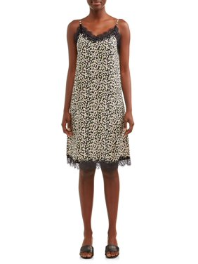 Women's Printed Slip Dress