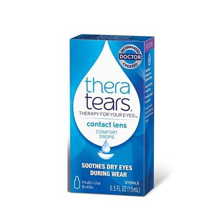 Thera Larmes Contact Lens Comfort Drops, bateau des Etats-Unis, Marque Advanced Vision Research