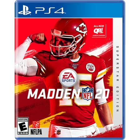 Madden NFL 20 Superstar Edition, EA, PlayStation 4, 014633741445