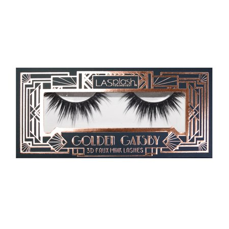 LA Splash Golden Gatsby Collection LASH 3D Faux Eyelashes - Sugar