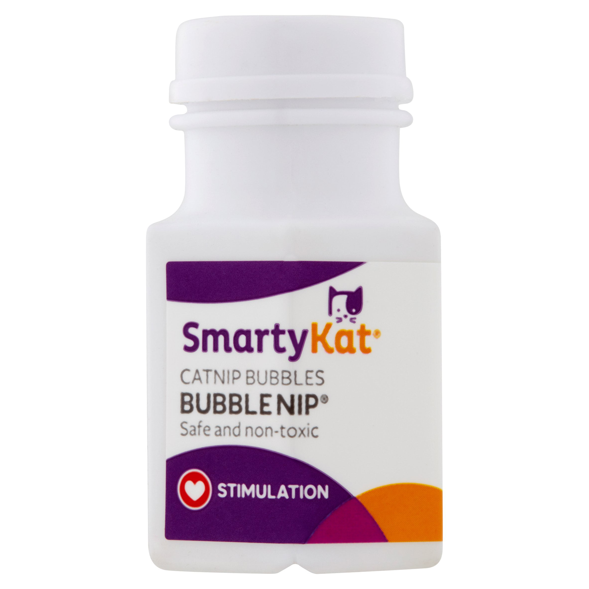 SmartyKat Bubble Nip 0.6oz Catnip Bubbles, Trial Size by Worldwise