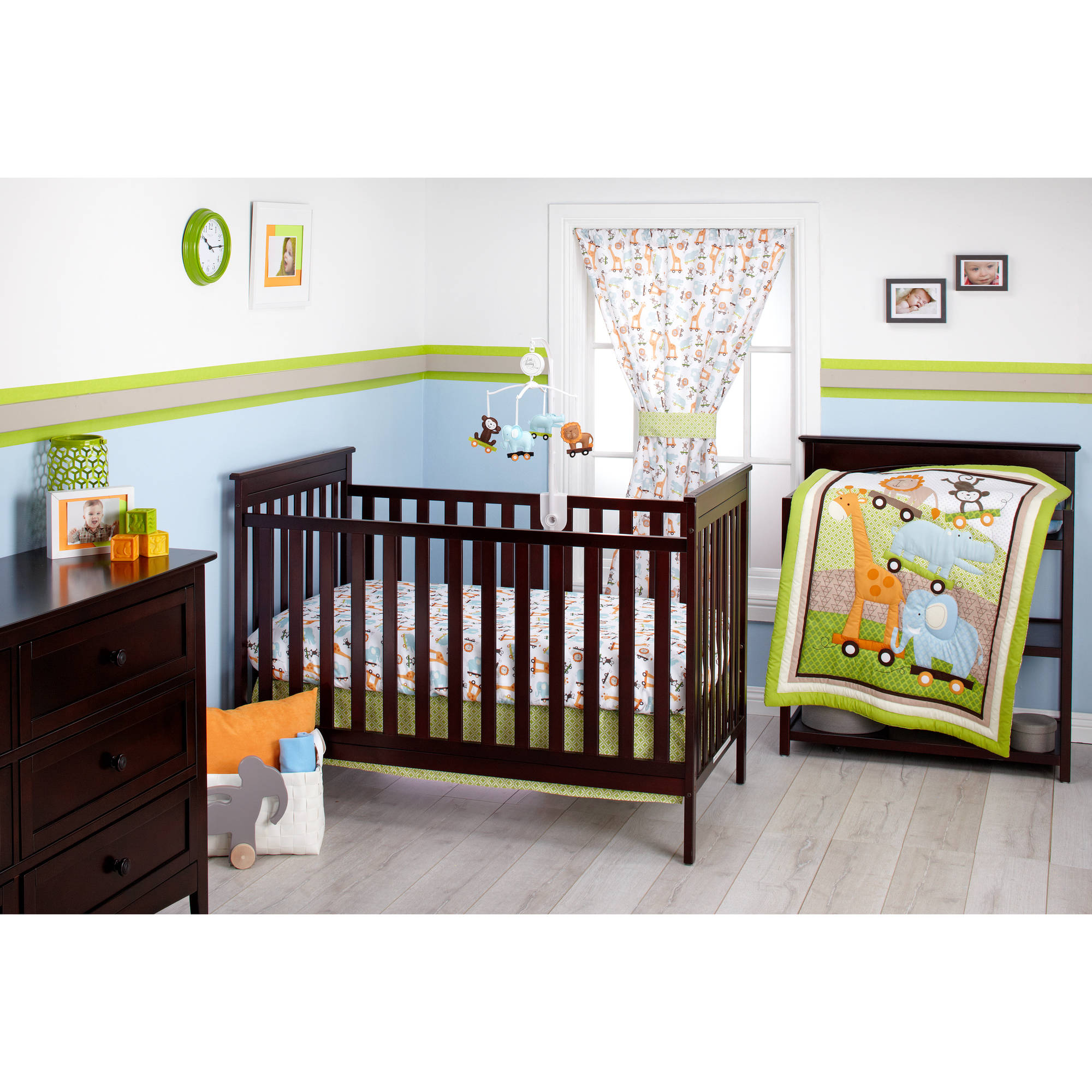 Little Bedding by NoJo Critter Pals 3-Piece Crib Bedding Set
