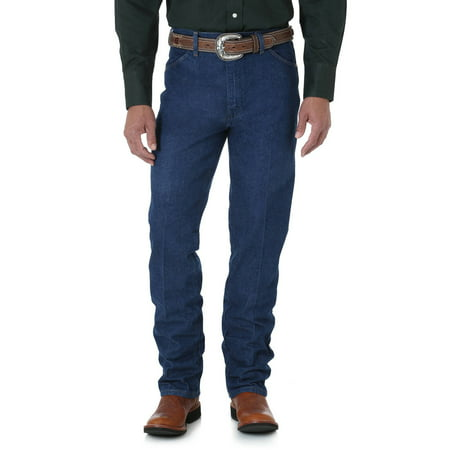 Wrangler Mens Cowboy Cut, Slim Fit 5-Pocket Jeans
