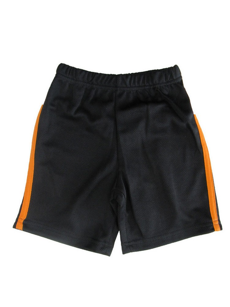 Disney Little Boys Black Basketball Shorts