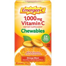 Cold & Flu: Emergen-C Chewables