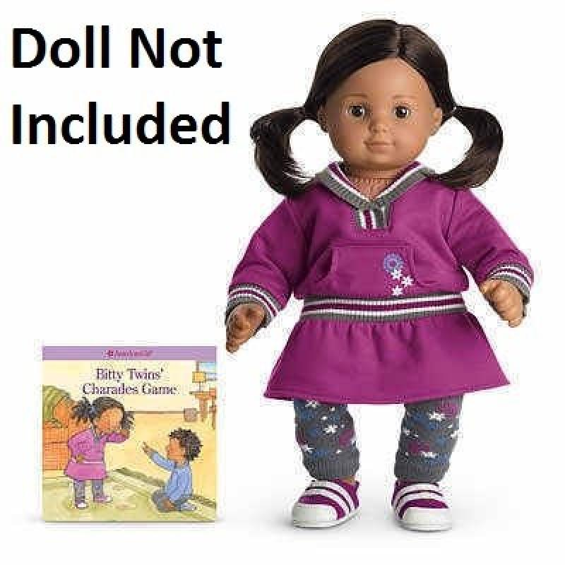 American Girl Bitty Twin Purple Play Dress (DOLL IS NOT I...