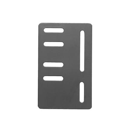 Headboard Brackets (WAYTON, Modification Plate, Headboard Attachment Bracket, Set of 2 Plates-6 x 9 x 1.4 in )