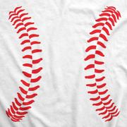916cefc1e66db Crazy Dog Funny T-Shirts - Maternity Baseball Laces Pregnancy T ...