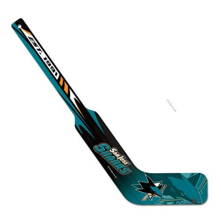 San Jose Sharks Official NHL Hockey Stick Goalie by Wincraft 731449