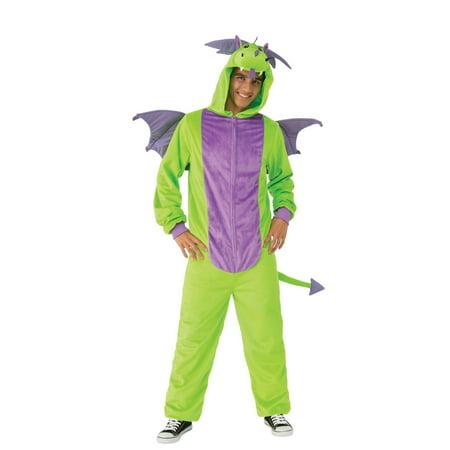 Halloween Green Dragon Comfy Wear Adult Costume