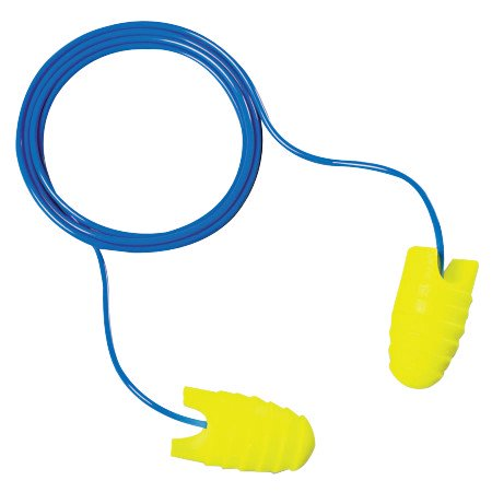 E-A-Rsoft Grippers Earplugs, Polyurethane, Corded