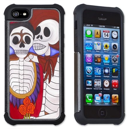 Apple iPhone 6 Plus / iPhone 6S Plus Cell Phone Case / Cover with Cushioned Corners - Day of the Dead - El Gran Amor