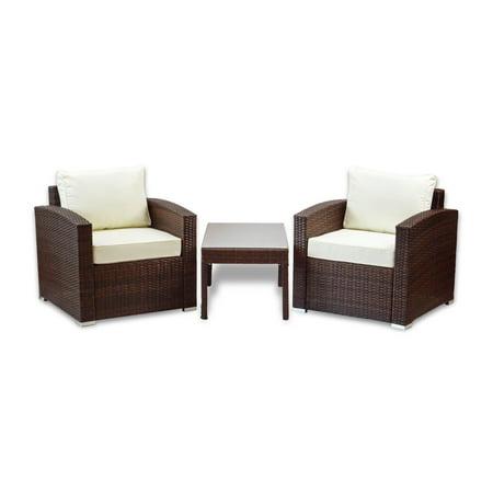 Tremendous Sk New Interiors Patio Outdoor Set Of 2 Chair Resin Wicker Ibusinesslaw Wood Chair Design Ideas Ibusinesslaworg