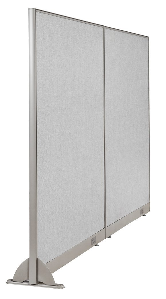 "96""W x 48""H Wall Mounted Office Partition Cubicle Panel Room Divider by GOF"