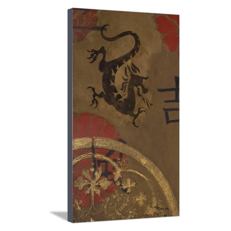 Alien Shield (Asian Shield I Stretched Canvas Print Wall Art By Hakimipour-ritter)